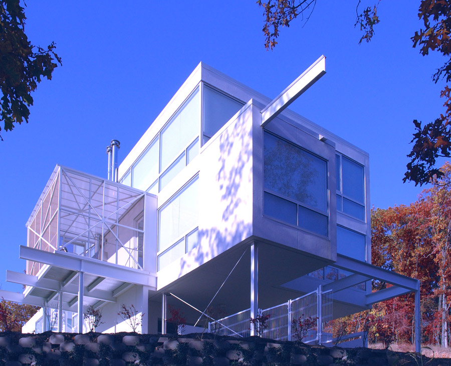 High modern homes for New architecture firms